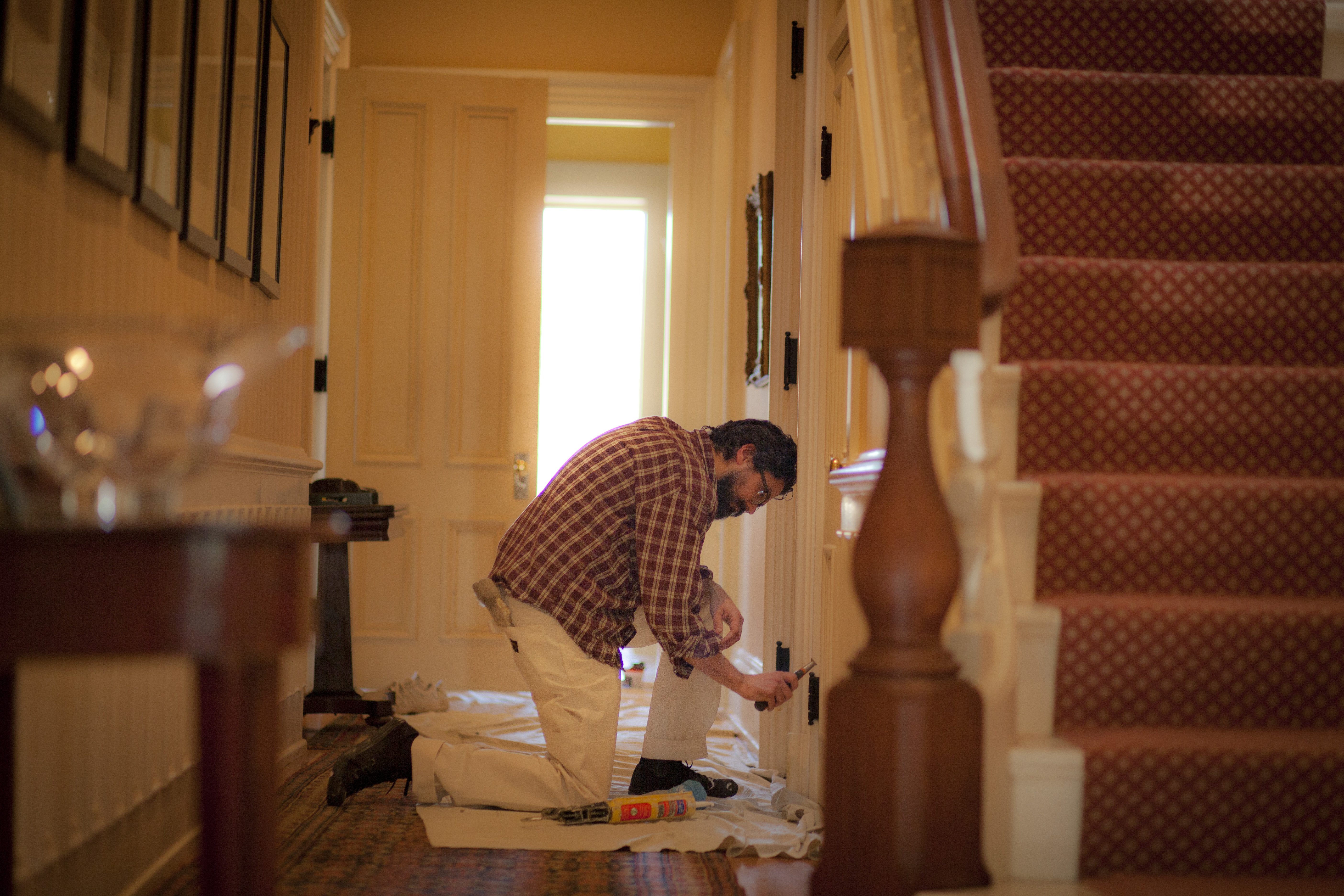 Interior house painting interior painting services boston - Interior exterior painting services set ...