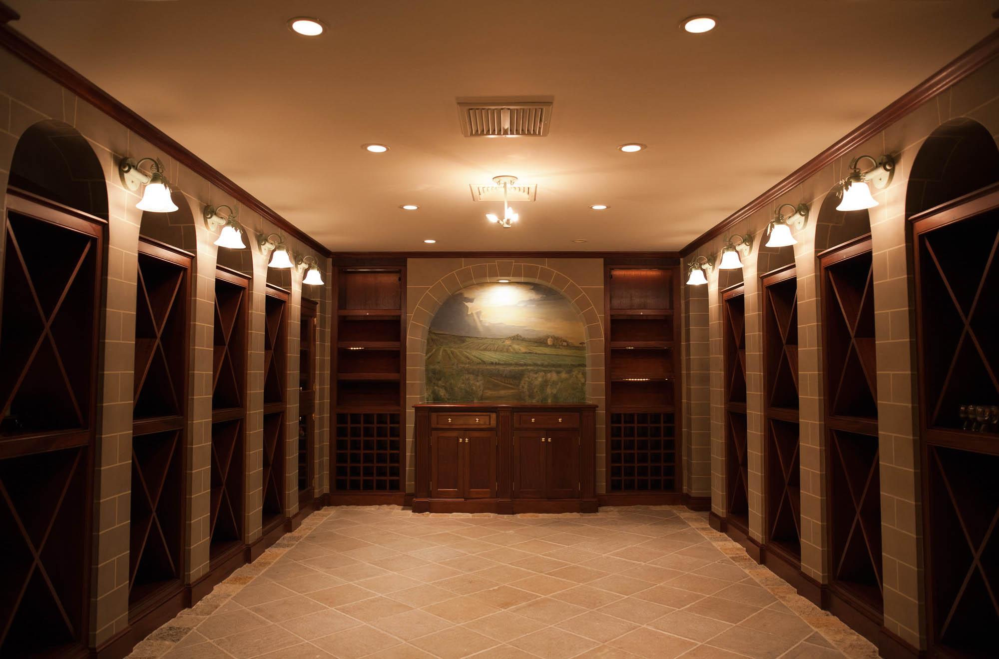 Optimus Painting Wine Cellar